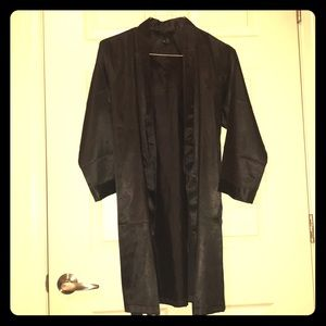 Other - Black Satin Robe